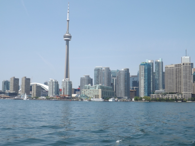 Toronto from the harbour