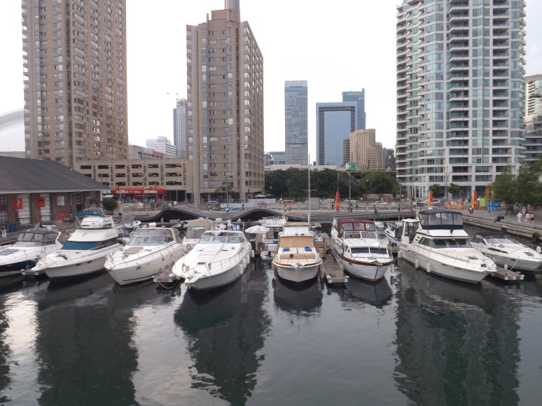 Rich man's toys at Toronto Harbourfront